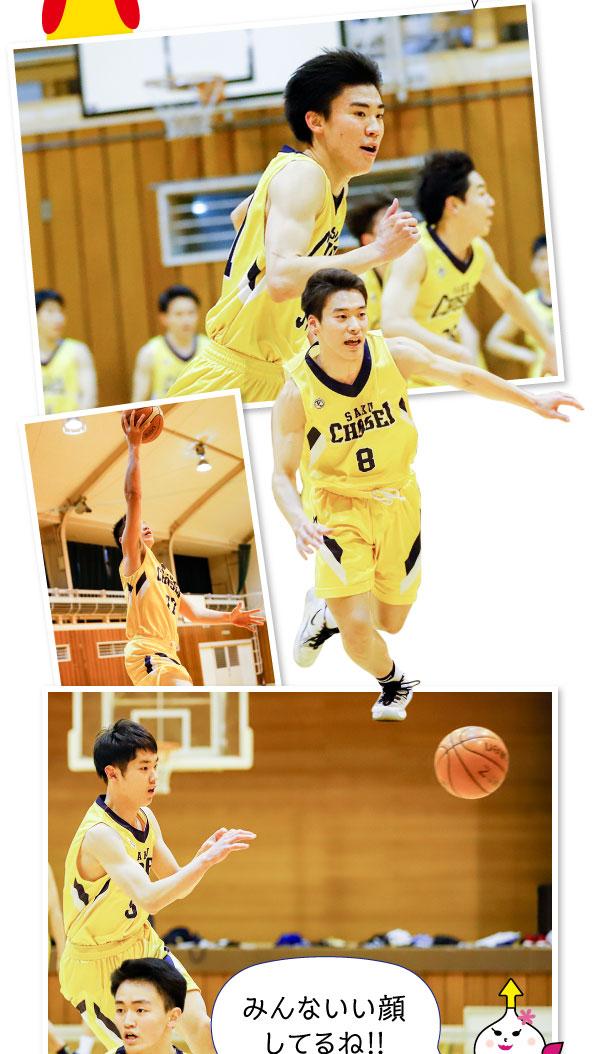 更に、ブレイブウォリアーズ、アカデミーは長野県バスケットボール協会と連携し、地元選手の発掘、育成及び強化に努めています。そして、多くの有名アスリートを輩出している佐久長聖高校・男子バスケット部の活動も応援しています!