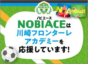 ノビエースは川崎フロンターレアカデミーを応援しています!